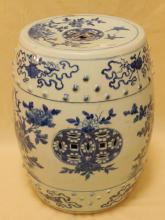 Chinese 18th/19th Qing Dynasty Garden Stool