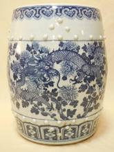 Chinese 18th / 19th Qing Dynasty Garden Stool