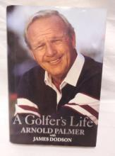 Signed Arnold Palmer A Golfer's Life 1st Edition