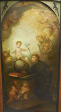 Large 19th C. Italian Old Master Oil Painting