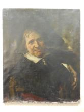 17th C Dutch Old Master Portrait  After Frans Hals