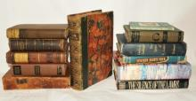 12 Hardcover Antiquarian & 1st Edition Books