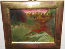 Virginia Murphy- Abstract Landscape- Oil on Canvas