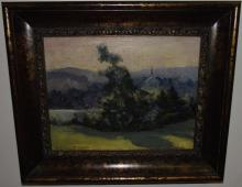 R. Emmett Owen Landscape- Oil on Canvas