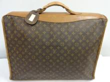 Vintage Louis Vuitton Leather Suitcase