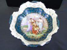 Antique Royal Vienna Style Large Bowl