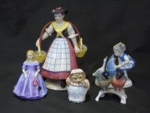 Assorted English & Continental Porcelain Figures