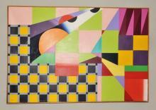 Bob URBAN Modernist Acrylic