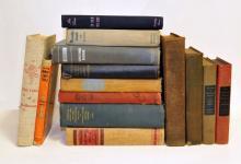 (14) Books Famous HEMINGWAY PROUST AUDUBON 1st EDs