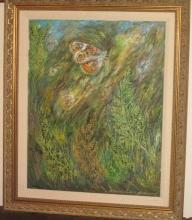 V. Kandelaki Russian 1943 Oil Painting