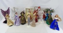 Lot of 17 Collectible Barbie Dolls Bob Mackie