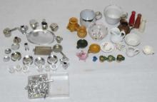 Assorted Antique Doll & Dollhouse Accessories