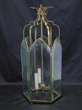 Vintage Brass Lantern