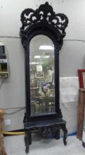 Antique Victorian NYC Brownstone Pier Mirror