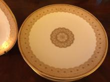 Set of 12 Gilman Collamore & Co Dinner Plates