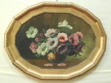 Horst 19th C. Oil on Canvas Still Life