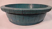 Turquoise Chinese Wash Bowl