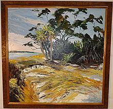 Impressionist Shore Scene- Alexander Kirk- O/C