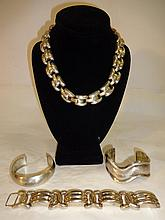 Lot of 4 Sterling Silver Jewelry Pieces