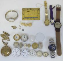 Collection Vintage Antique Watches Pocket Watches