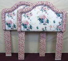 Contemporary Pair of Cowtan & Tout Twin Headboards