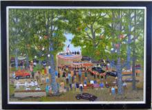 Helen La France Oil Painting