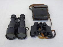 Two Pairs of Antique French Binoculars