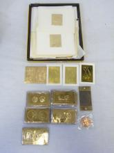Large Lot of Gold Stamp Collection