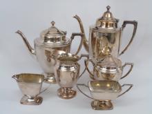 Vintage Silver Plate Coffee / Tea Service