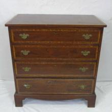 Antique English Four Drawer Chippendale Chest