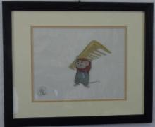 Walt Disney Animation Cel Bernard