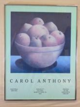 Carol Anthony Poster of a Bowl of Fruit