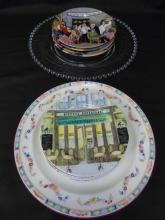 Assorted Serving Items - Appetizer Plates & Trays