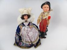Two Vintage French & German Dolls All Original