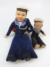 Two Norah Welling Sailor Dolls All Original