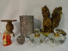 Lot of 7 Vintage Decorative Items