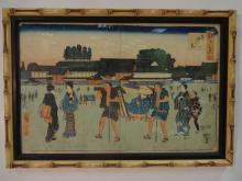 Hiroshige Original Japanese Woodblock Print