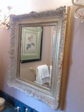 Contemporary Italian Baroque Style Wall Mirror