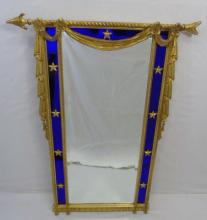 Carvers Guild Gold Leaf Empire Style Mirror