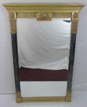 Contemporary Designer Neo Classical Crest Mirror