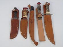 Vintage Hunting Knifes - Solingen & Imperial