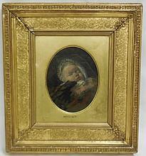 Portrait Attributed to Sir John Everett Millais