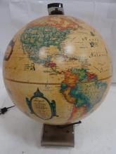 Mid-Century Illuminated Desk Globe