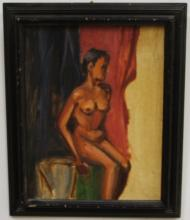 Nude Portrait by Sannit- Oil on Canvas