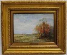 Landscape by Walter Granville-Smith/Oil on Canvas
