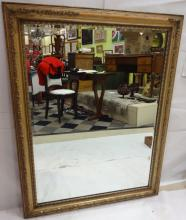 Antique Ornate Gilt Mirror