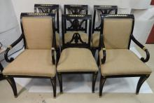 Set of Six Jansen Dining Chairs