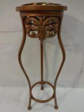 Modernist Copper Plant Stand