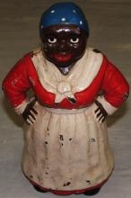 Vintage Black Female Servant Statue