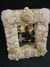 Vintage Shell Mirror as Seen in Coastal Living